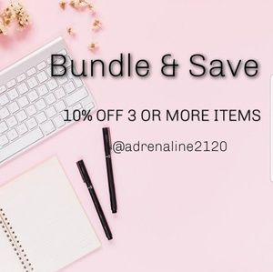 💟 10% off 3 Or More Items 💟